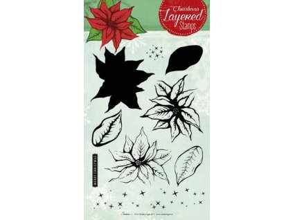 studio light layered clearstempel christmas a5 nr 09 stampls09 301709 en G