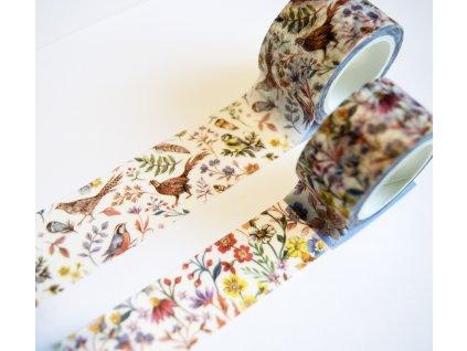 craft consortium woodland washi tape ccwtpe0007