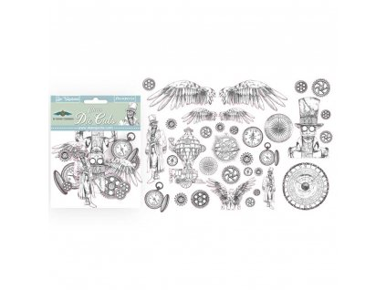 SSSstamperia clear die cuts sir vagabond dfldcp01