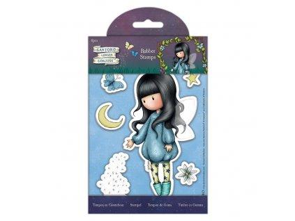 gorjuss rubber stamps bubble fairy 6pcs gor 907164