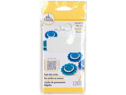 ek success tools foam dot circles 0125 inch 55 010