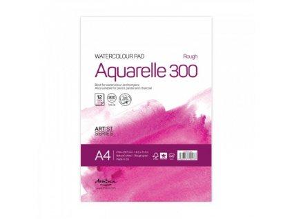 Drasca - AQUARELLE 300 gr / A4 - přírodně  bílé akvarelové čtvrtky