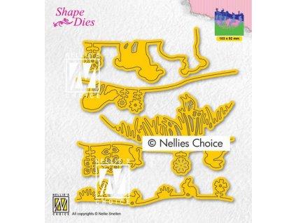 nellies choice shape die spring scene sd192 103x92mm 01 21 319282 en G