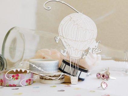 Kreatywna Pracownia - 80 / RD1085 / svatební balon - kartonové ozdoby