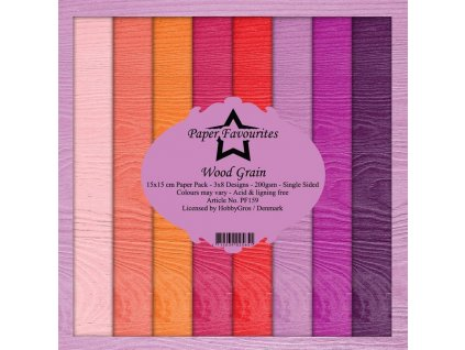 paper favourites wood grain 6x6 inch paper pack pf