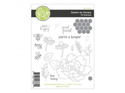 fun stampers journey sweet as honey rubber stamps