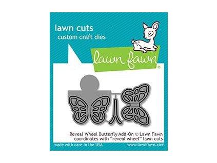 lawn fawn reveal wheel butterfly add on dies lf191