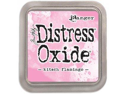 Distress Ink / OXIDE - KITSCH FLAMINGO - růžová razítkovací barva