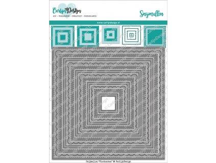 carlijndesign snijmallen vierkanten cdsn 0079
