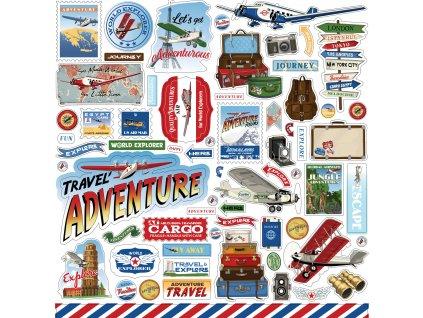 carta bella our travel adventure 12x12 inch elemen