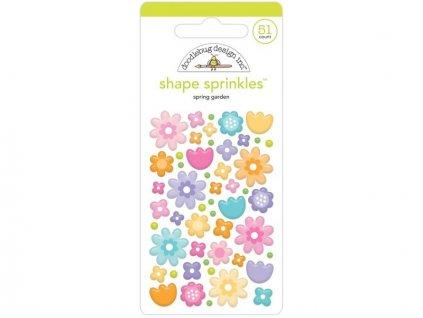 doodlebug design spring garden shape sprinkles 720