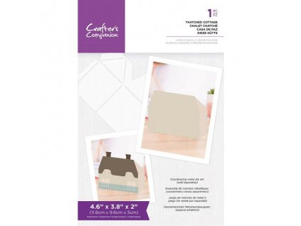 crafters companion thatched cottage templates cc t