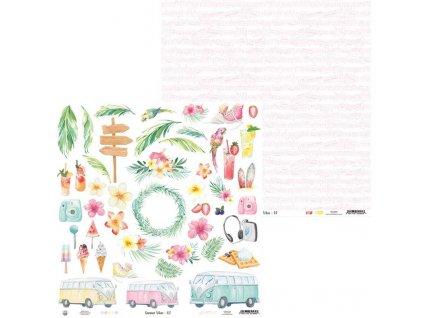 papier summer vibes 07 12x12