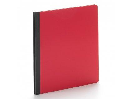 simple stories snatp flipbook 6x8 inch red 13302