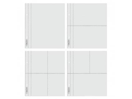 simple stories snatp flipbook page refills multi 6