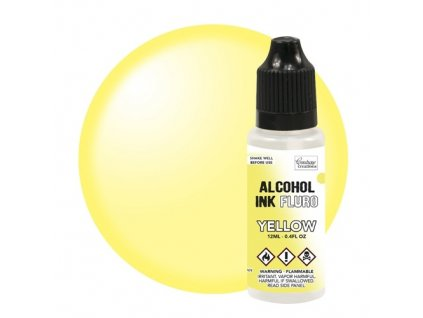 couture creations alcohol ink fluro yellow 12ml co