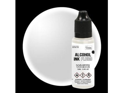 couture creations alcohol ink fluro white 12ml co7