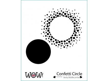 wow stencil confetti circle by verity biddlecombe 4910 p