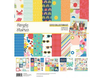 simple stories sunkissed collection kit 15100