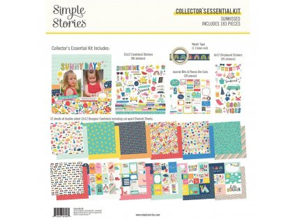 simple stories sunkissed collectors essential kit