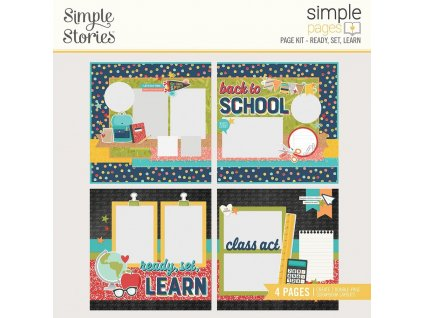 simple stories simple pages kit ready set learn 14