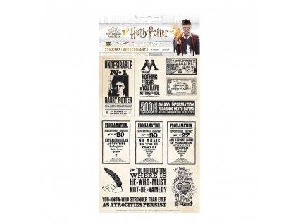 Paper House - HARRY POTTER - novinové samolepky