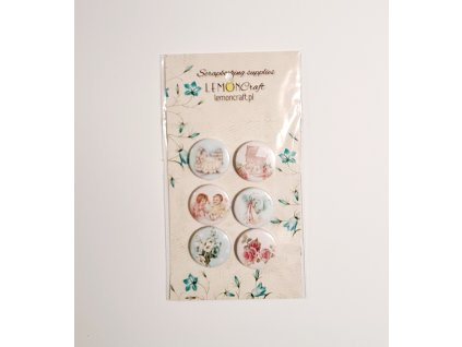 Lemon Craft - dětské 3D butonky / badges /placky