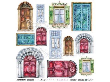 doors windows 2 arkusz do wycinania