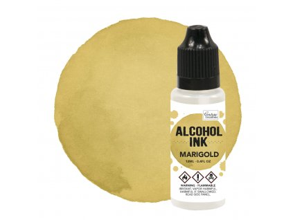 couture creations alcohol ink marigold 12ml co7273