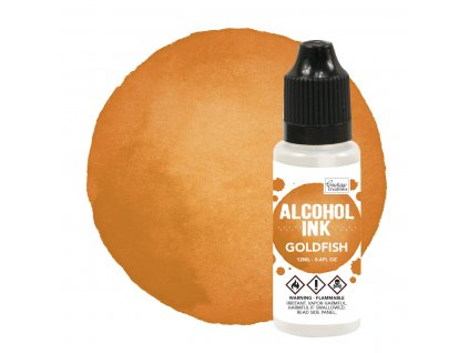 couture creations alcohol ink goldfish 12ml co7273