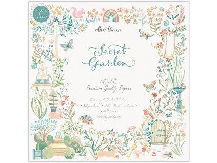 craft consortium secret garden 12x12 inch paper pa