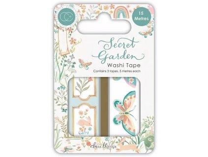craft consortium secret garden washi tape ccwtpe01