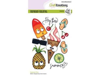 craftemotions clearstamps a6 summer fun carla creaties 06 21 320826 en G