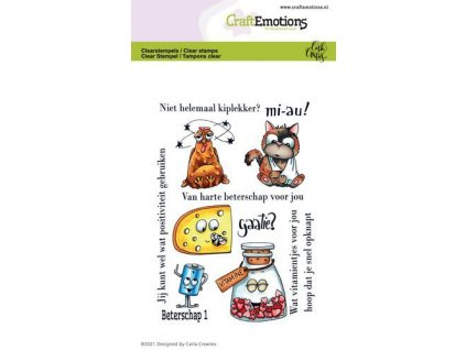 craftemotions clearstamps a6 beterschap 1 carla creaties 02 21 319598 en G