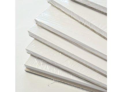 Lepenka 2 ks + 25 čtvrtek - 20 x 20 cm -  polotovar na deník