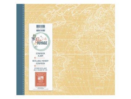 first edition bon voyage 8x8 inch album fealb110