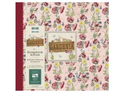 first edition gardenia 12x12 inch album floral fea