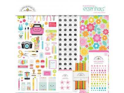 doodlebug design cute crafty 12x12 inch essentials