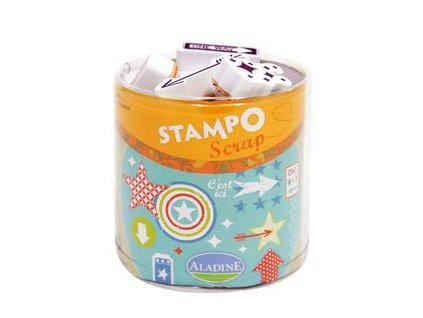 Aladine -  STAMPO SCRAP / šipky - gumová razítka