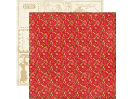 THG27003 Red Floral