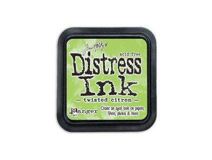 Distress Ink - TWISTED CITRON - razítkovací barva