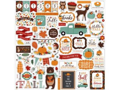 Echo Park - HAPPY FALL - podzimní samolepky