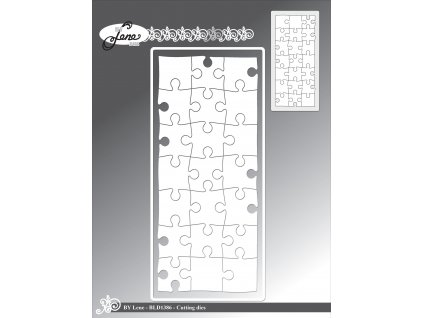 by lene slimcard puzzle cutting embossing dies bld