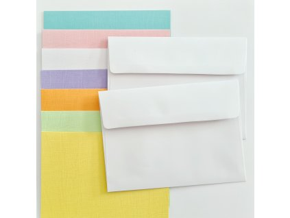 Core´dinations - sada obálek a přání A7 - 7 odstínů barev - 35 ks
