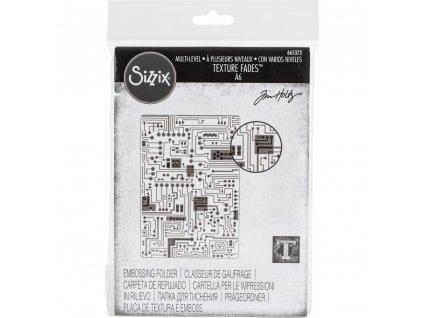 Sizzix - CIRCUIT / 665372 - 3D embosovací kapsa
