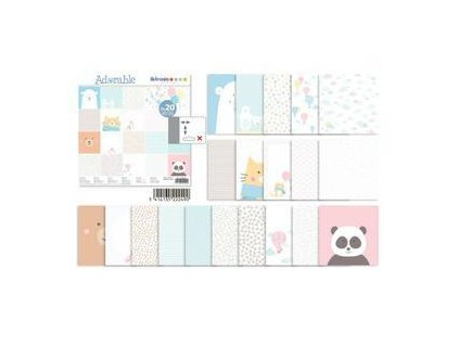 assortiment 30x30 artemio adorable qte 40