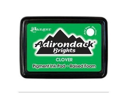 adirondack brights pigment inkpads clover 3011564