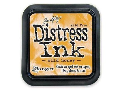 Distress Ink - WILD HONEY / mini - razítkovací barva