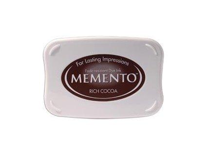 memento rich cocoa dye pad