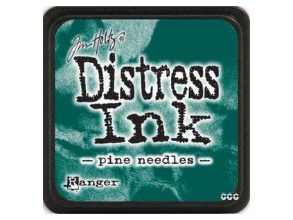 mini distress ink pine needles
